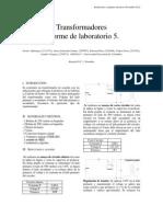 Informe 5 Instalaciones y Maquinas Electrcias