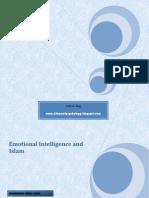 Emotional Intelligence and Islam