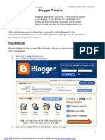 Blogger Tutorial StudentCareBD.com