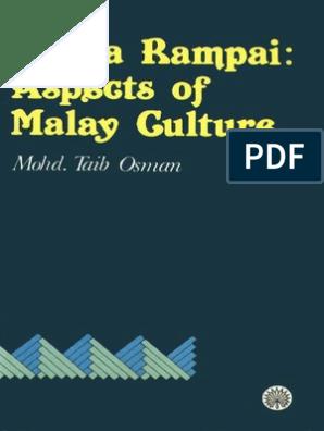 bunga rampai aspects of malay culture ra ana storytelling