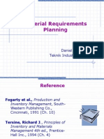 Material Requirements Planning 2013
