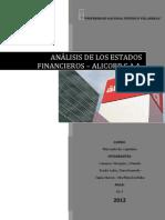 Analisis de Los Ratios Financieros 2011