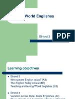 World Englishes Strand3
