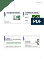 Aula Politica Industrial Brasileira Setores Da Industria Etc
