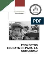 Proyecto Educativos Para La Comunidad