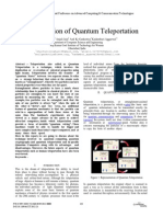 An Investigation of Quantum Teleportation
