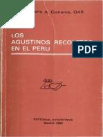 Cisneros, Emiliano a - Los Agustinos Recoletos en El Peru