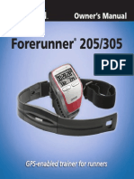 Garmin Forerunner 205 Manual