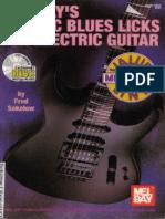 Classic Blues Licks for Guitar