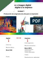 Color e Imagen Digital de Lo Digital a Lo Impreso
