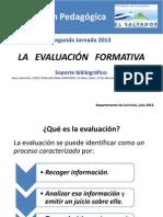 La Evaluacion Formativa