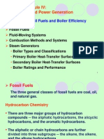 413 Topic IV-3 (Fossil Fuels and Boiler Efficiency)
