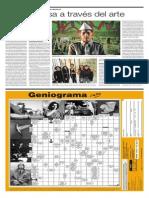 Vargas Llosa a través del arte | El Comercio | 04.Ago.2011. P. C12