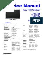 Panasonic TX 26lx60f 26lx60p 32lx60f 32lx60p Chassis Glp21