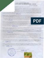 Certidão Negativa Ônus Fazenda Candeias 2008