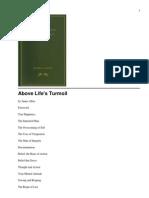 Above Life's Turmoil - By James Allen