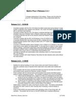 MatrixPlus3 Release 2dot4 060306