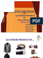 38710371 Marketing Strategies Leather Products