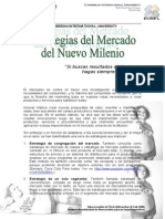 3.1 III. Estrategias Del Mercado Del Nuevo Milenio