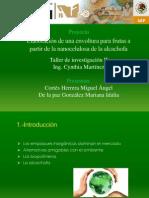 Elaboración de una envoltura a partir de la alcachofa CORRECTA