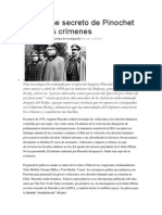 El informe secreto de Pinochet sobre los crímenes