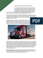 Trucking Jobs Wisconsin