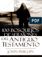 100 Bosquejos de Sermones Del At