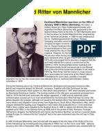 Ferdinand Ritter Von Mannlicher