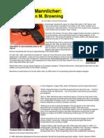 Ferdinand Mannlicher - Austria's John M. Browning