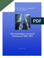 MVCS Plan Estratégico Sectorial Multianual 2008 - 2015