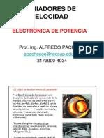 Variadores de Velocidadelectronica de Potencia