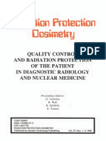 Ion Protection of the Patient in Diagnostic Radiology and Nuclear Medicine Vol 57 Proceedings of a Workshop Held in Grado Italy September 29 to October 1 1993
