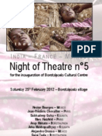 Night of Theatre n°5 (2012)