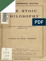 the stoic philosophy