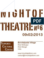 Night Theatre n°6 (2013)