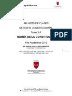 1 Apuntes Derecho Constitucional Teoria de La Constitucion MAVA