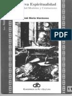 MARDONES, J. M. - Nueva Espiritualidad. Sociedad Moderna y Cristianismo - UIA 1999