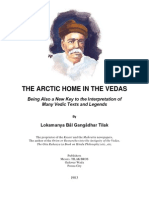 The Artic Home in the Vedas