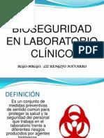 Bioseguridad en Laboratorio Clinico