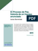 El Proceso de Paz - Isaias Barreñada