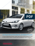 Toyota en France 2012