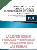 Ley y Reglamento (Licitacion y Estimaciones)