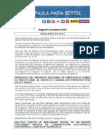 Rendición de Cuentas - Segundo semestre 2013