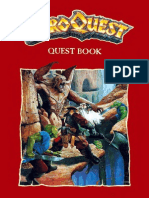 HERO QUEST Uk Kk Quest Book
