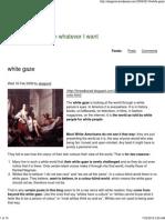 White Gaze