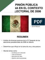 LA OPINIÓN PÚBLICA MEXICANA EN EL CONTEXTO POSTELECTORAL final