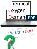 Ppt on Chemical Oxygen Demand