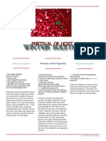 Winter Solstice Feast