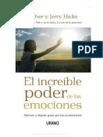 71013540 Esther y Jerry Hicks El Increible Poder de Las Emociones