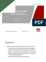 4.RF Module VSWR Abnormal Alarm